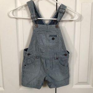 Osh Kosh Overall Shorts.